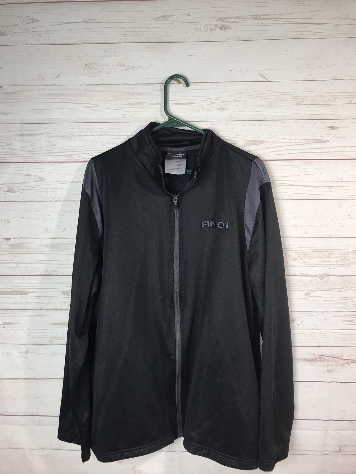 AND1 Full Zip Track Men's XL