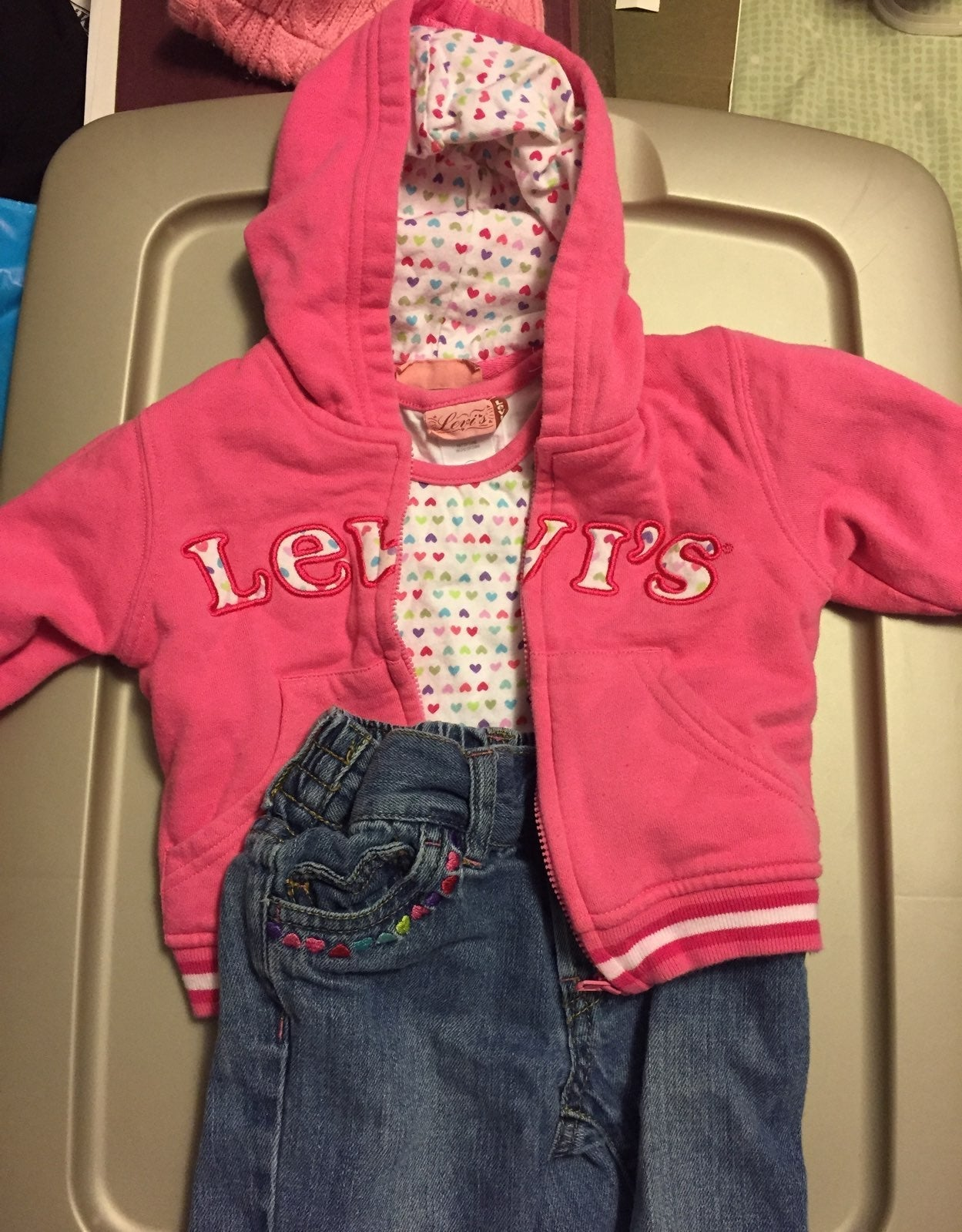 Levi's 3 piece outfit
