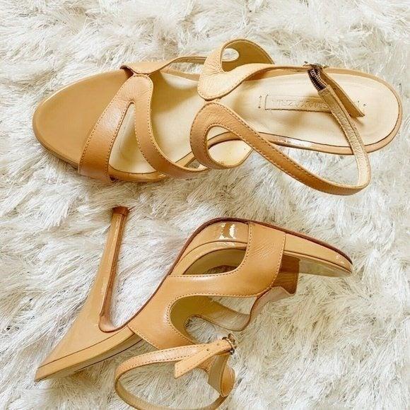 BCBG MAX AZRIA Strappy Leather Sandals