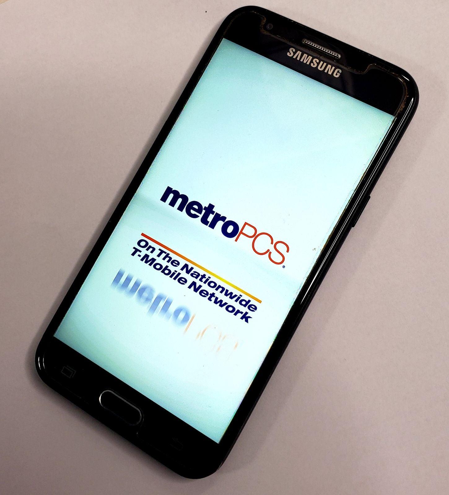 metro pcs 4G SAMSUNG J3 Prime smartphone