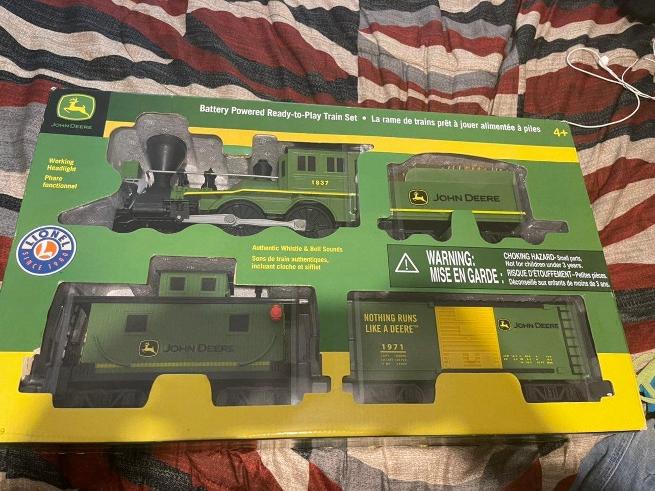 John deerre train set