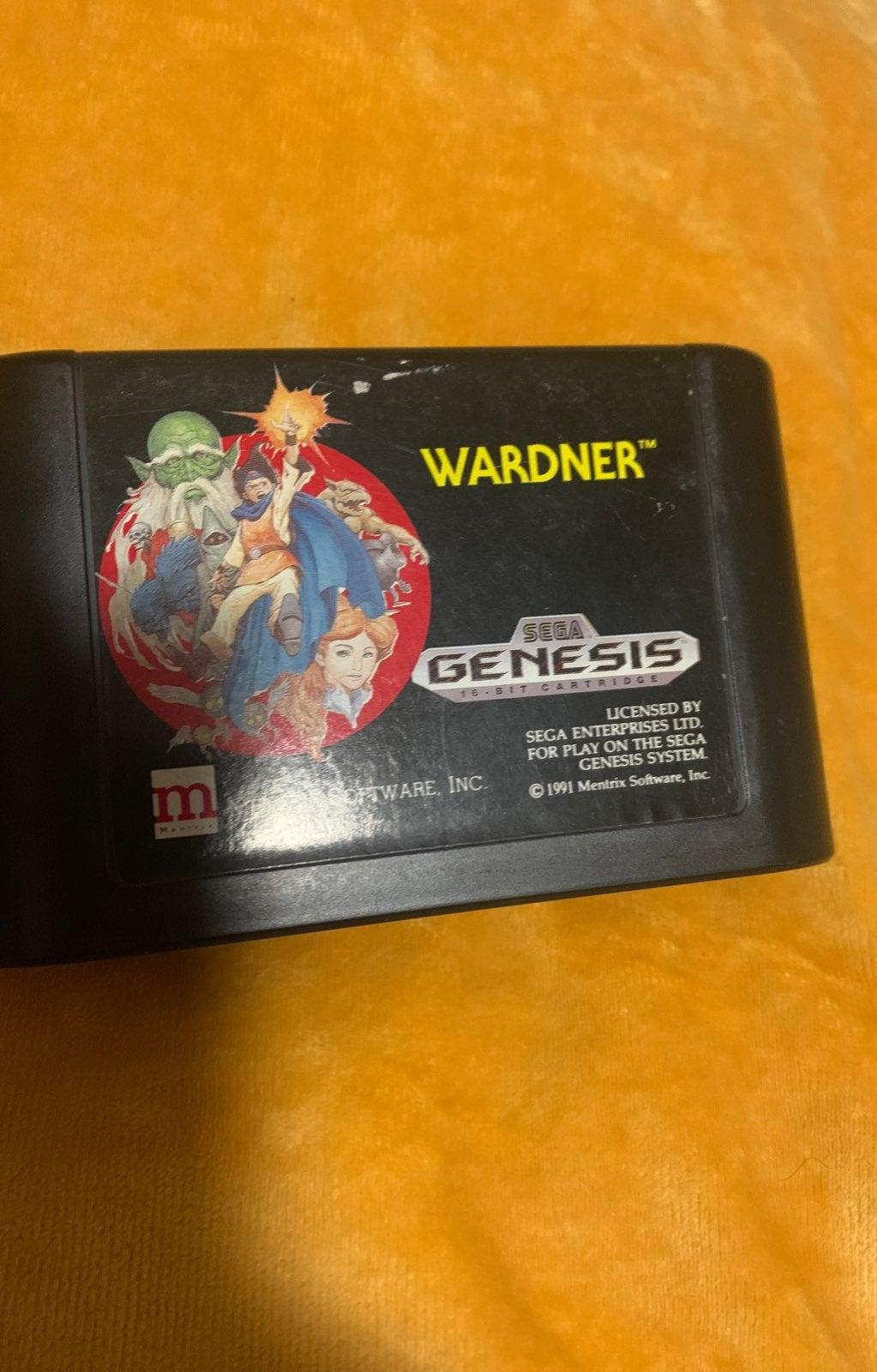 Wardner for sega genesis and rampart