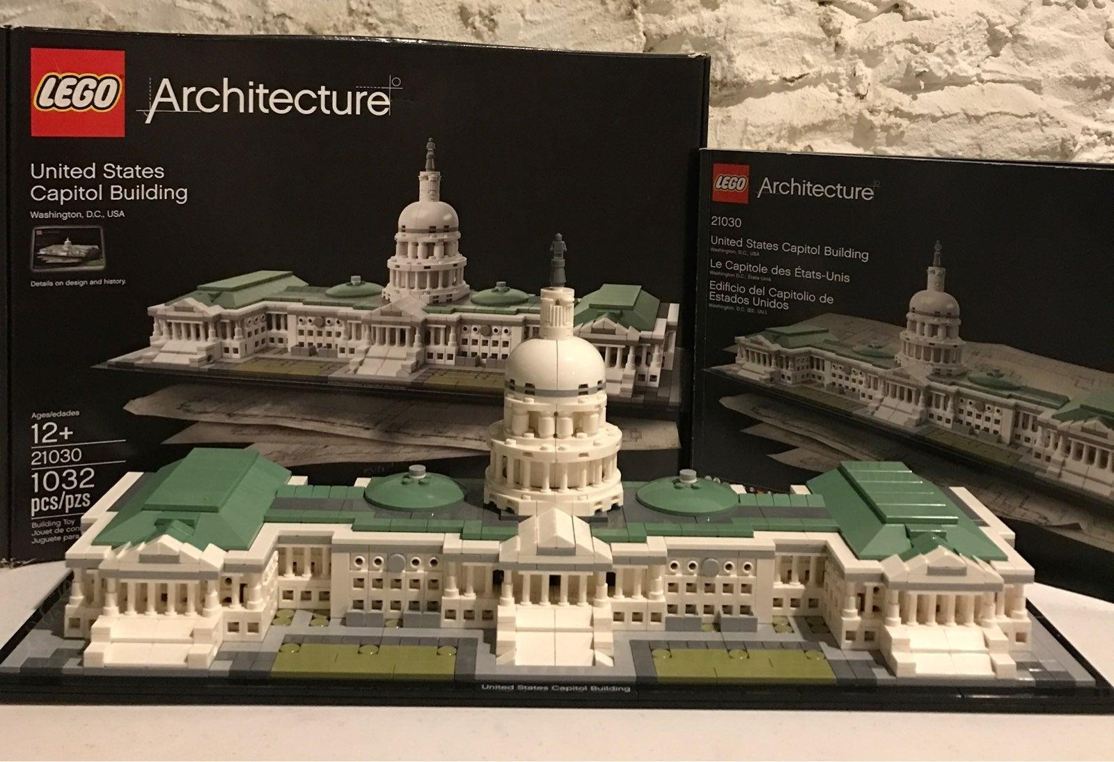LEGO architecture capital building