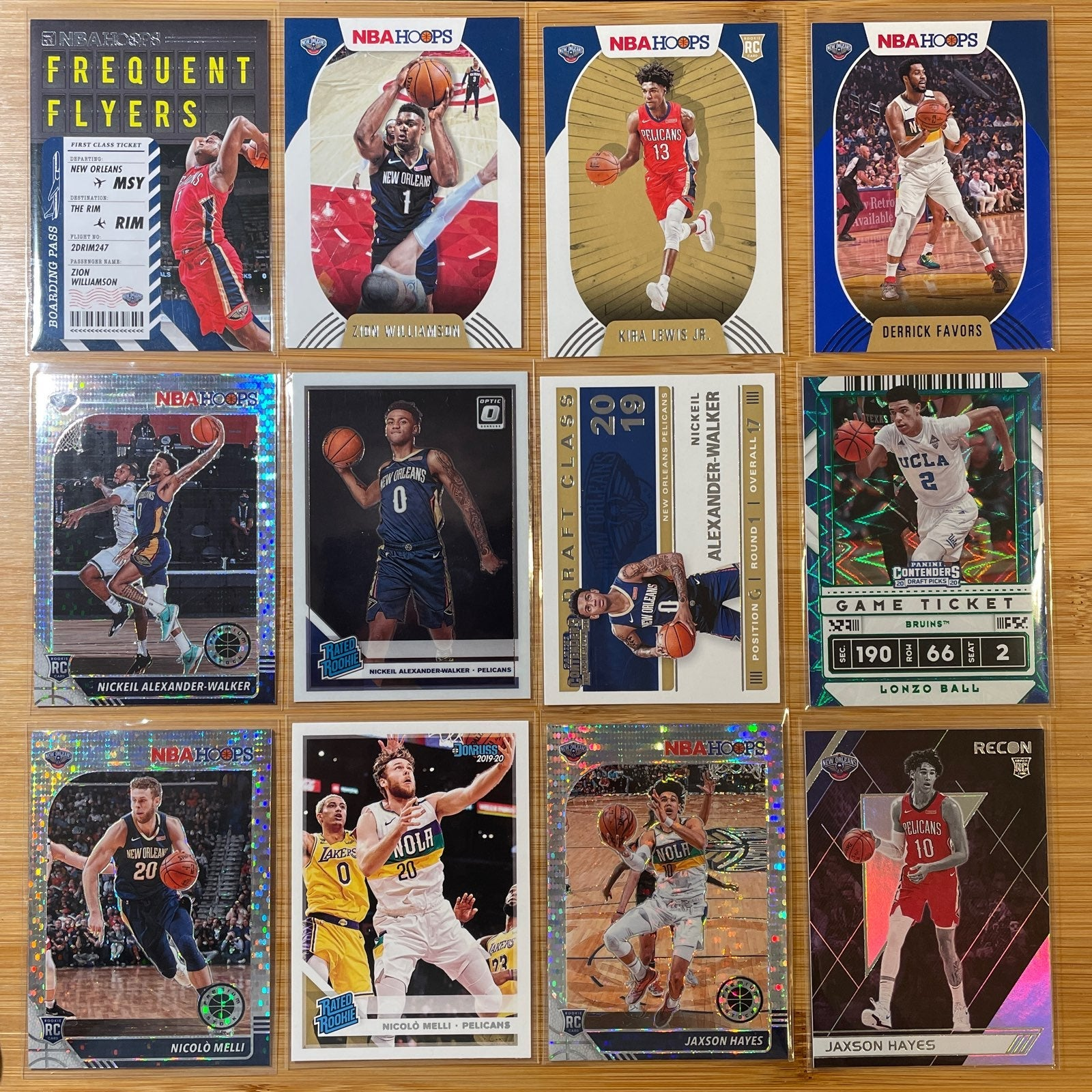 New Orleans Pelicans Lot (12)