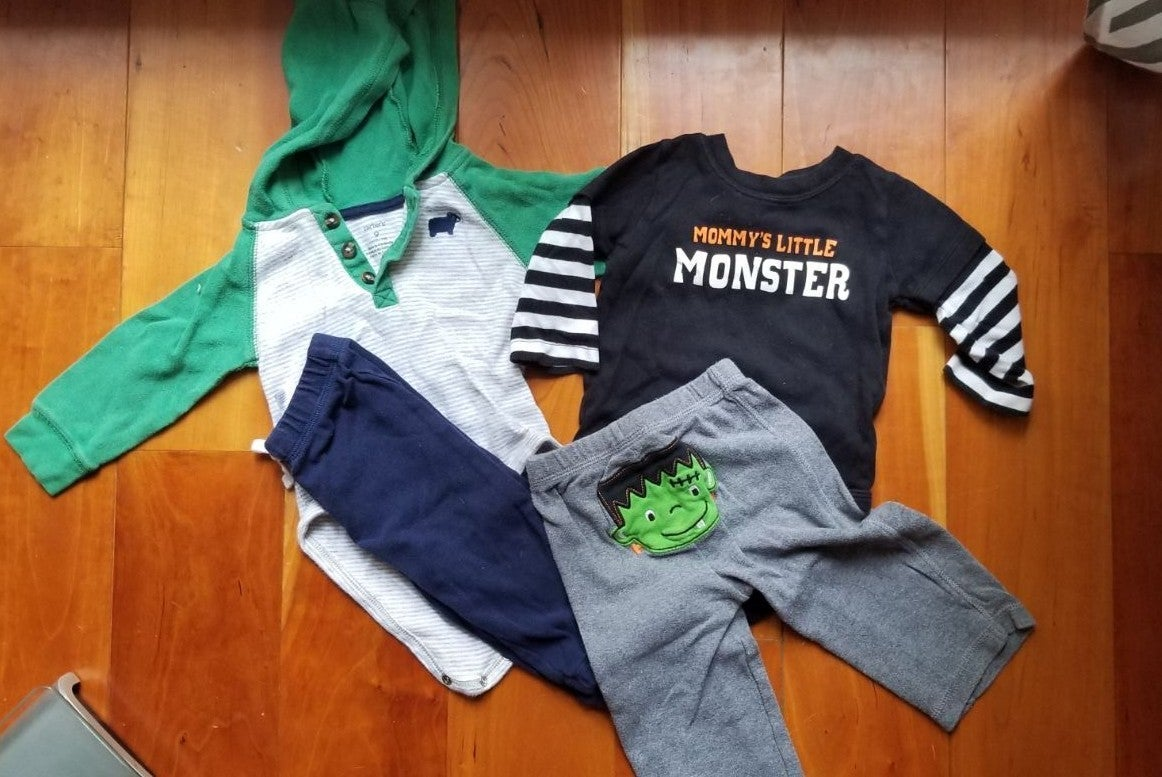 2 Carter's Baby Boy Outfits