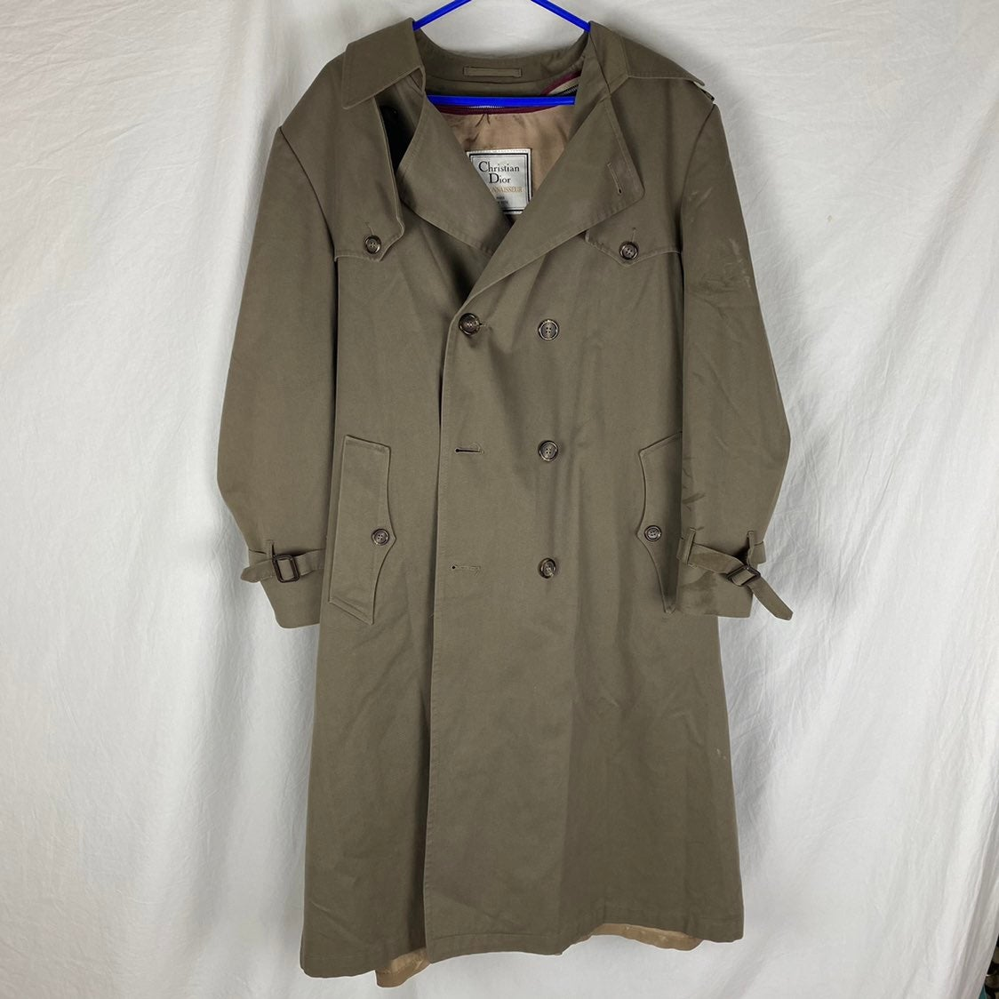 Christian Dior Tan Trench Coat
