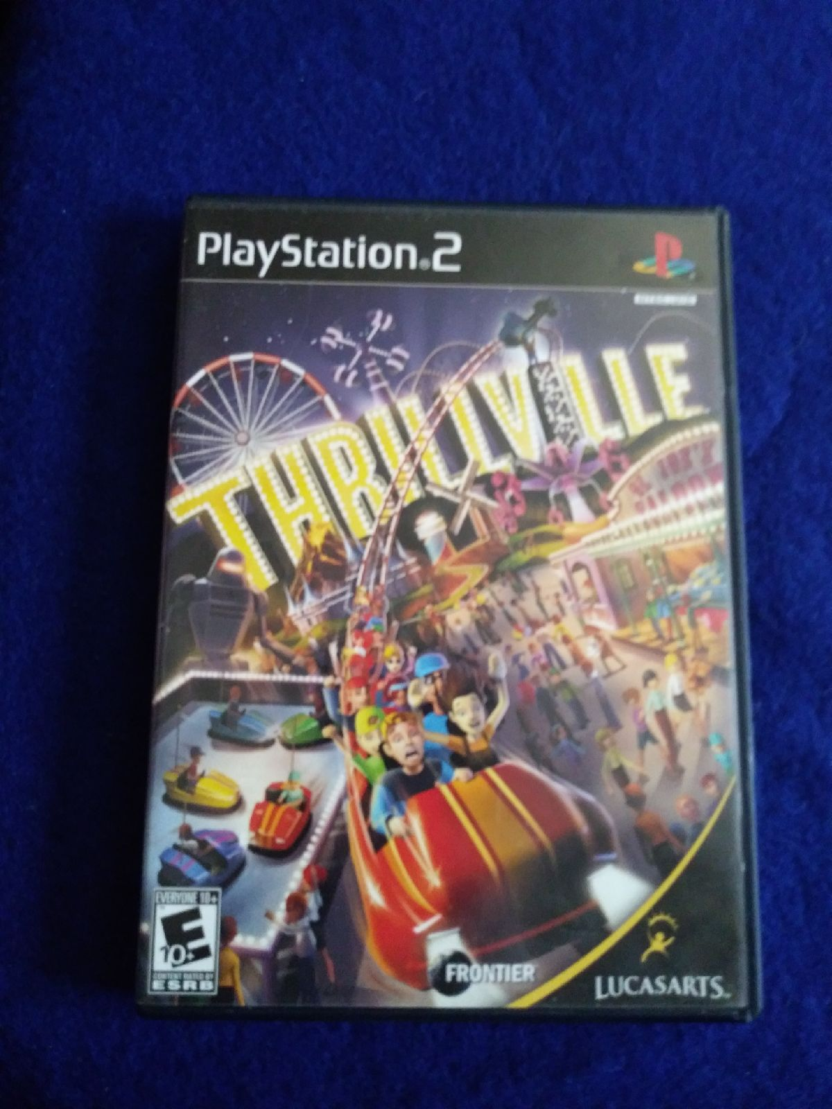 PS2 thrillville Game
