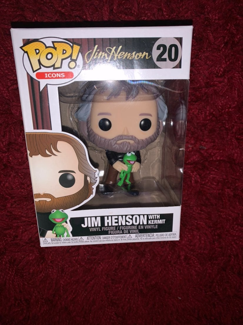 Funko Pop Jim Henson w/ Kermit the Frog