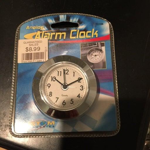 Analog Alarm Clock Auto Accessory
