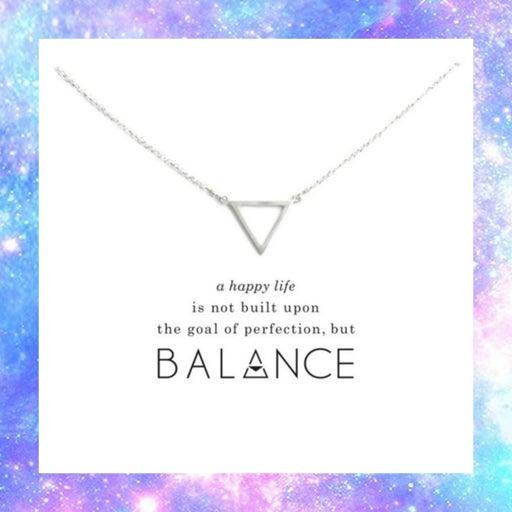 NEW Balance Charm Necklace