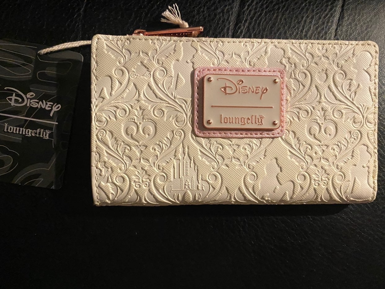 Loungefly NEW Princess Embossed Wallet