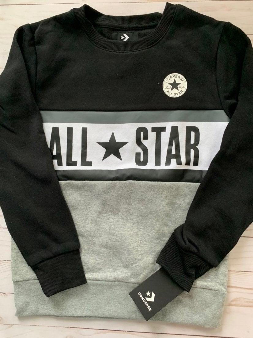NWT Converse sweatshirt Boys M