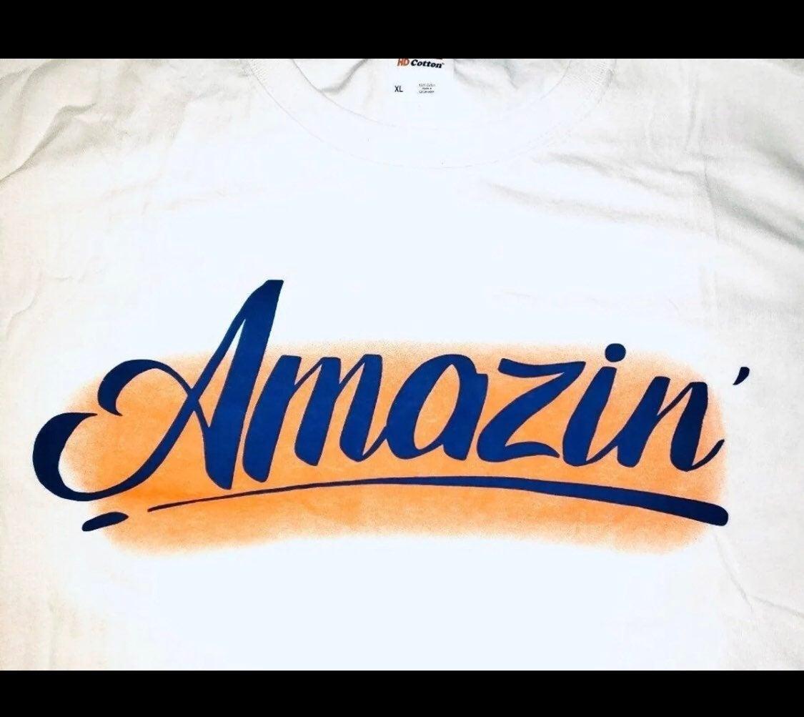 NY METS baseball tshirt Amazing XL