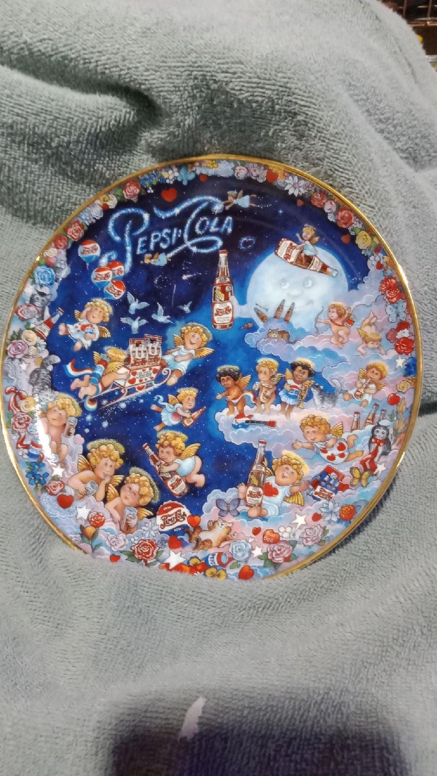 Antique Pepsi plate