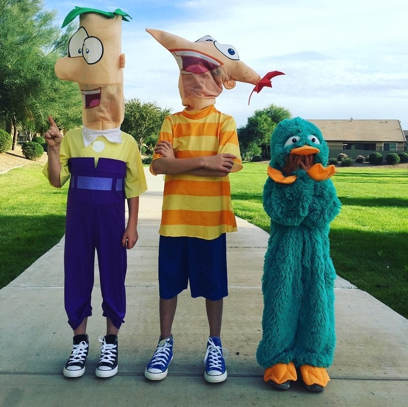 Ferb Costume from Phineas & Ferb