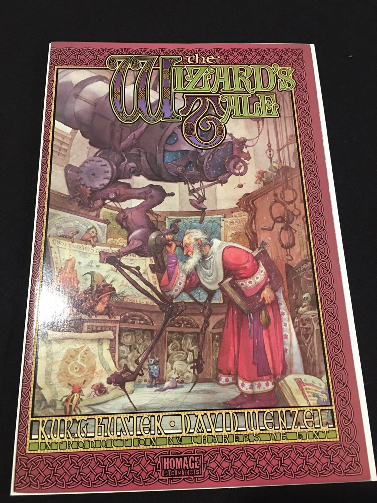 The wizards tale graphic novel