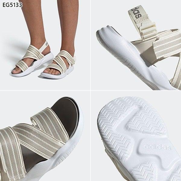 2 Pairs Adidas Off White 90s Sandal