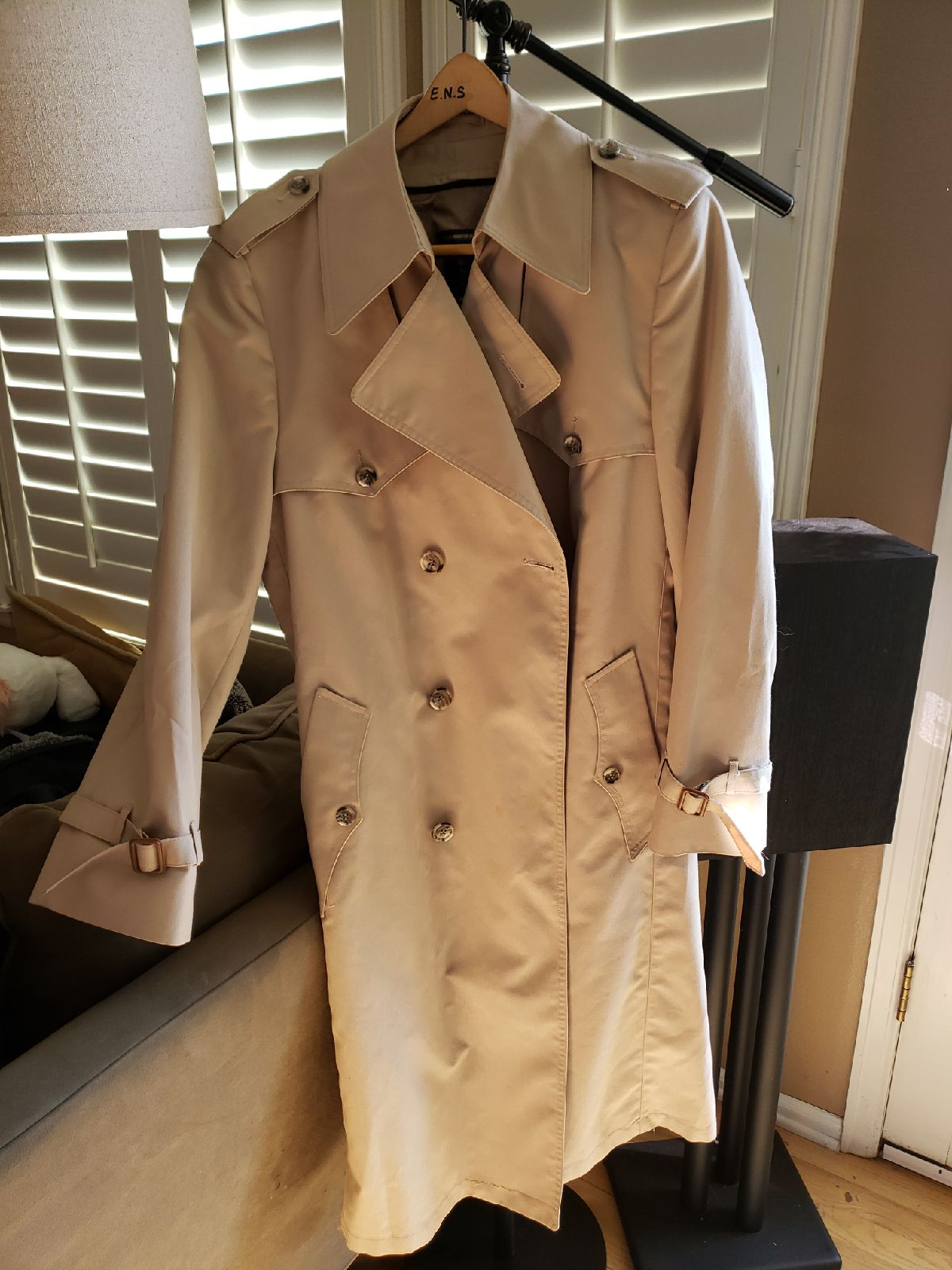 Rare lined Christian Dior Trench Coat