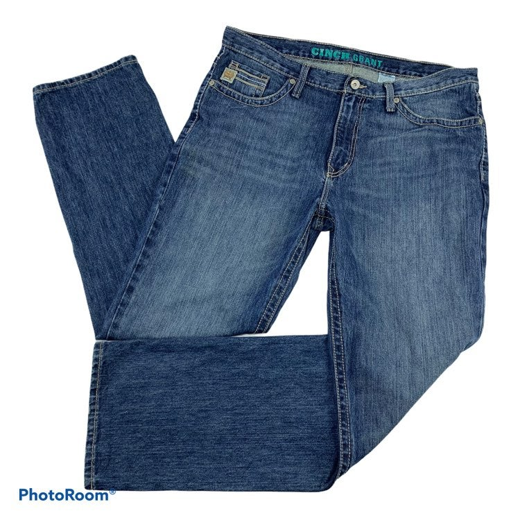 CINCH Grant Relaxed Boot Jeans 38x34