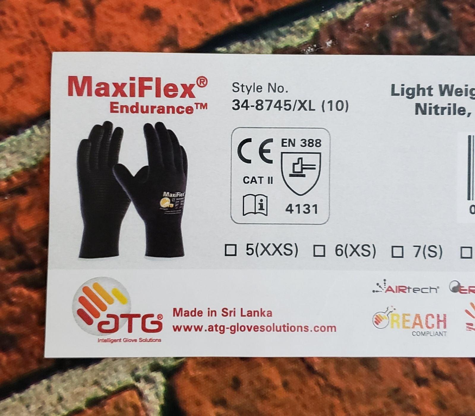 New MaxiFlex® Nylon Glove 4 Pairs