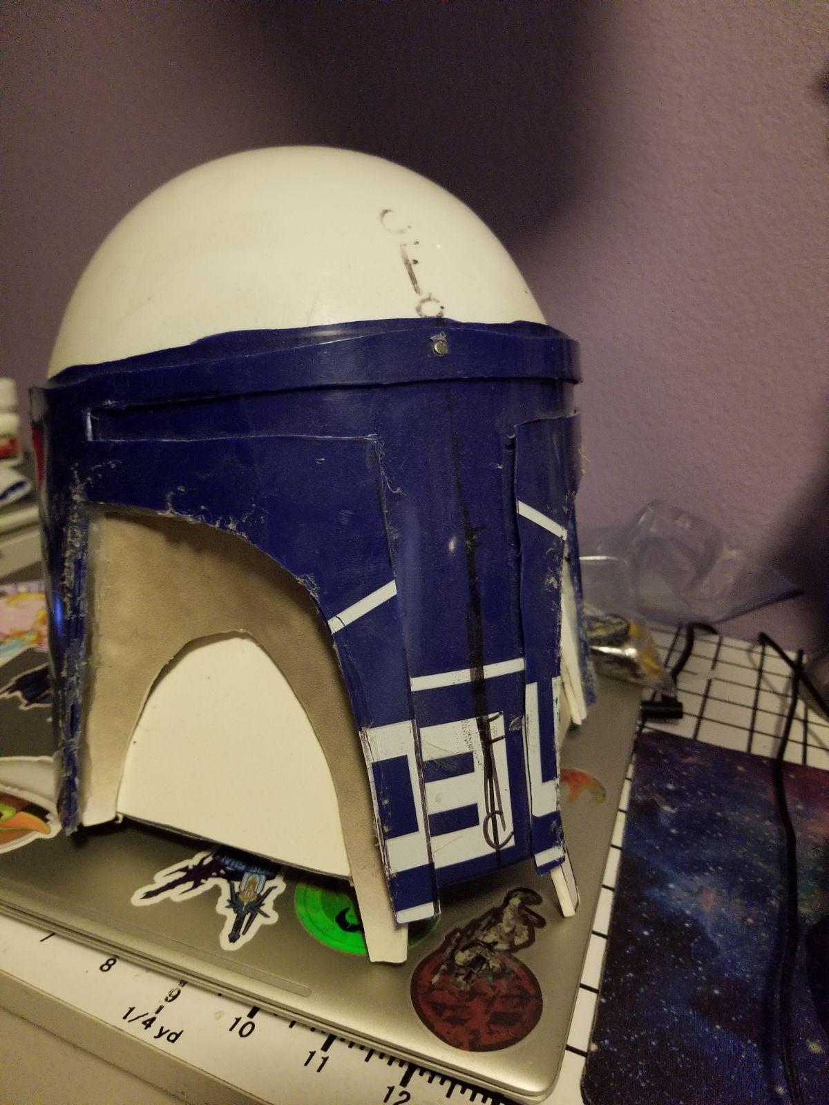Work in Progress Mandalorian Helmet