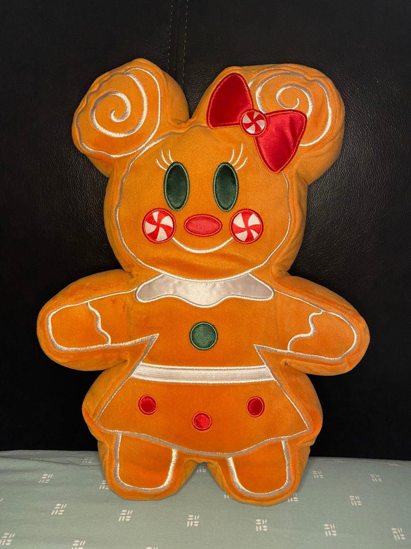 Disney plush Christmas gingerbread plush