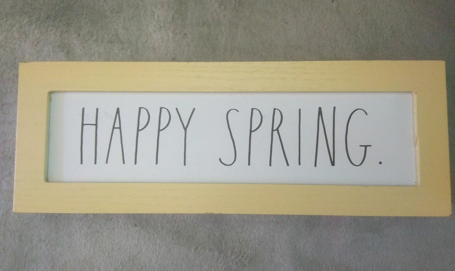 Rae Dunn Happy Spring decoration