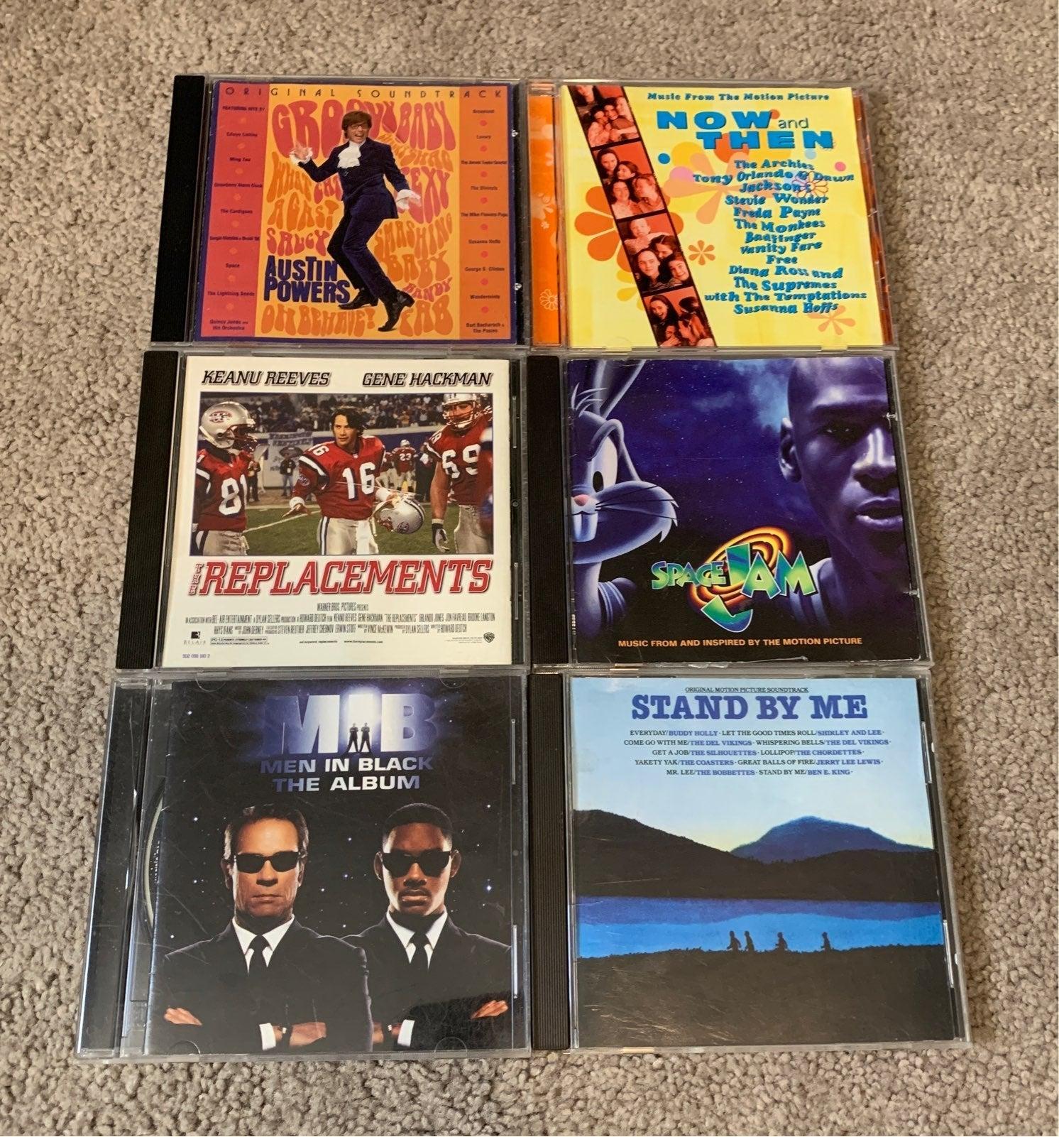 CD soundtracks bundle