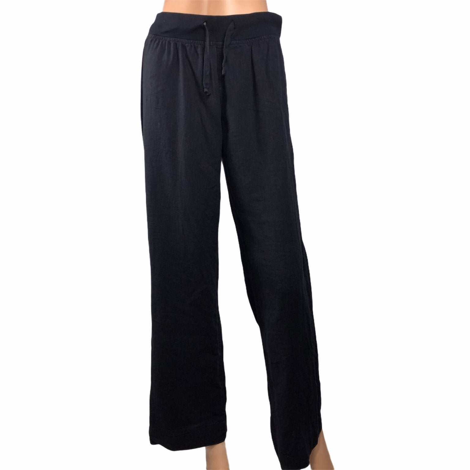 Bella Dahl Black Linen Pants Small