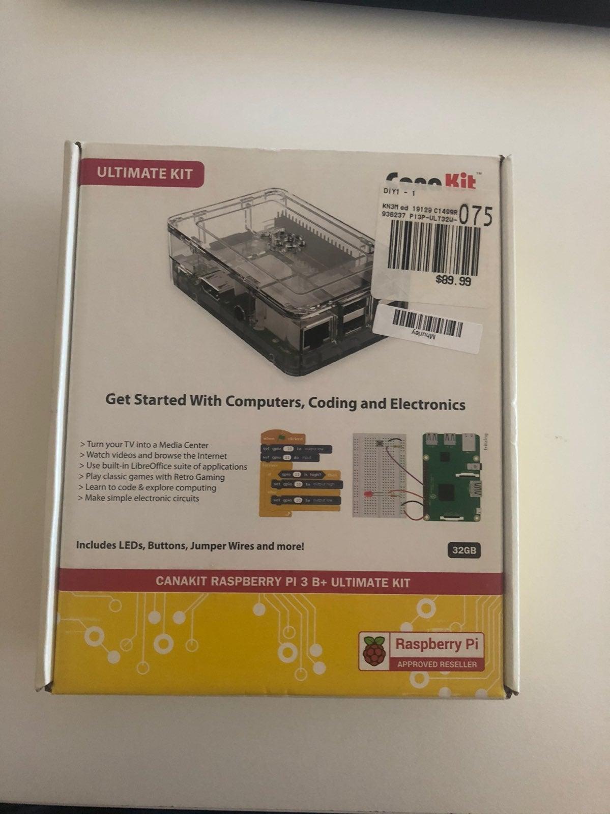 Raspberry Pi 3 B+ Ultimate Kit