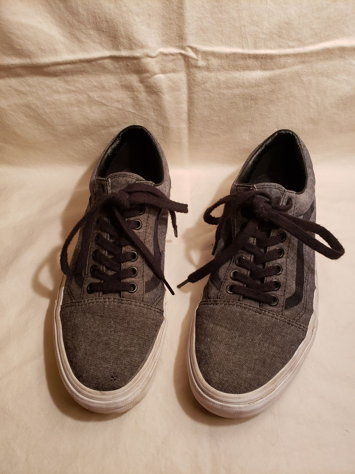 VANS Old Skool black and gray mens sneak
