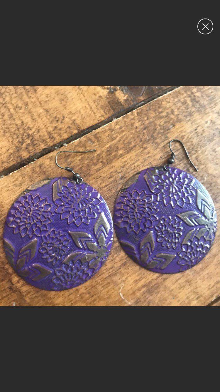 3for$15 Urban Outfitters Purple Earrings