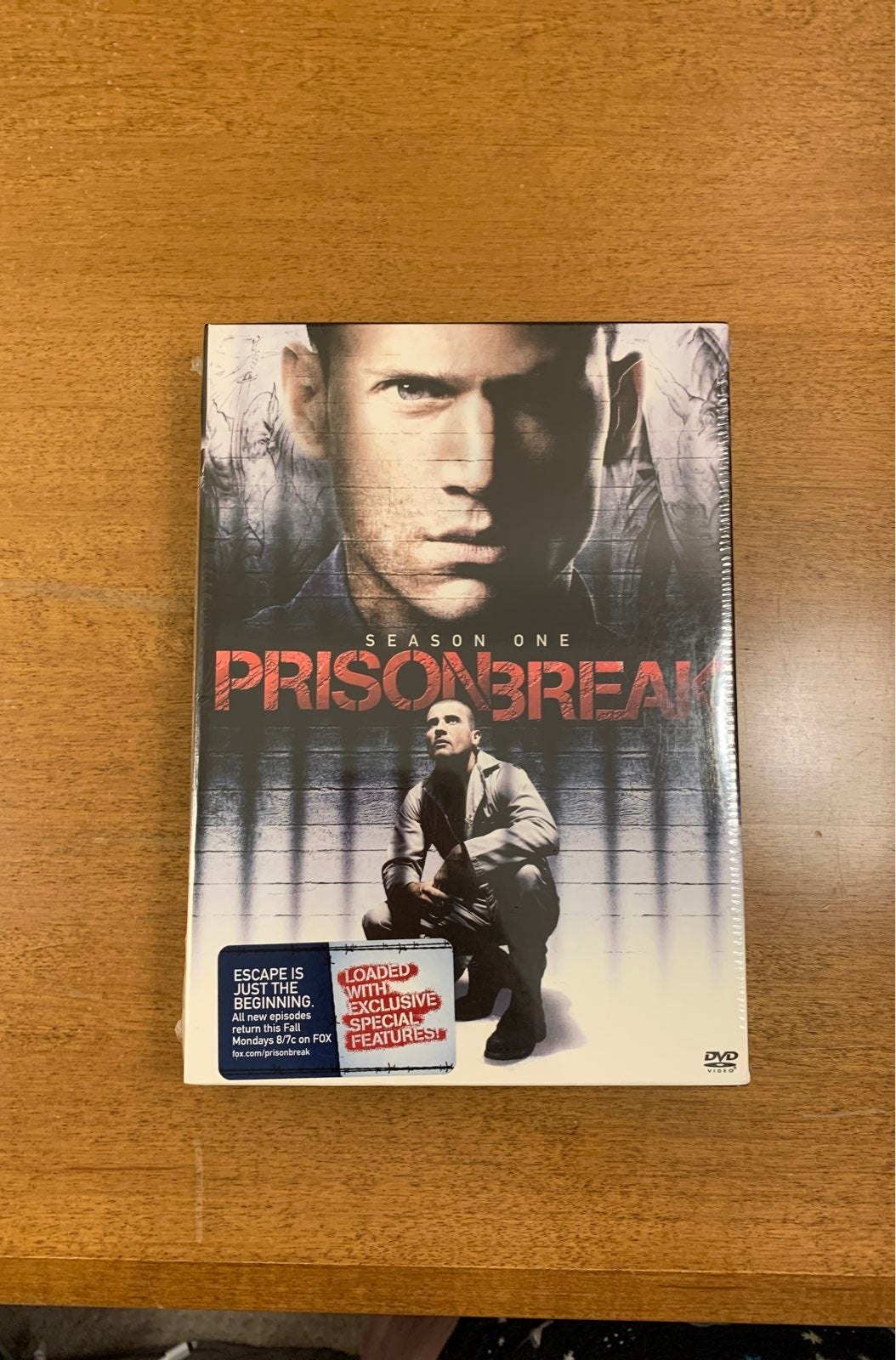 Prison Break Season One DVD