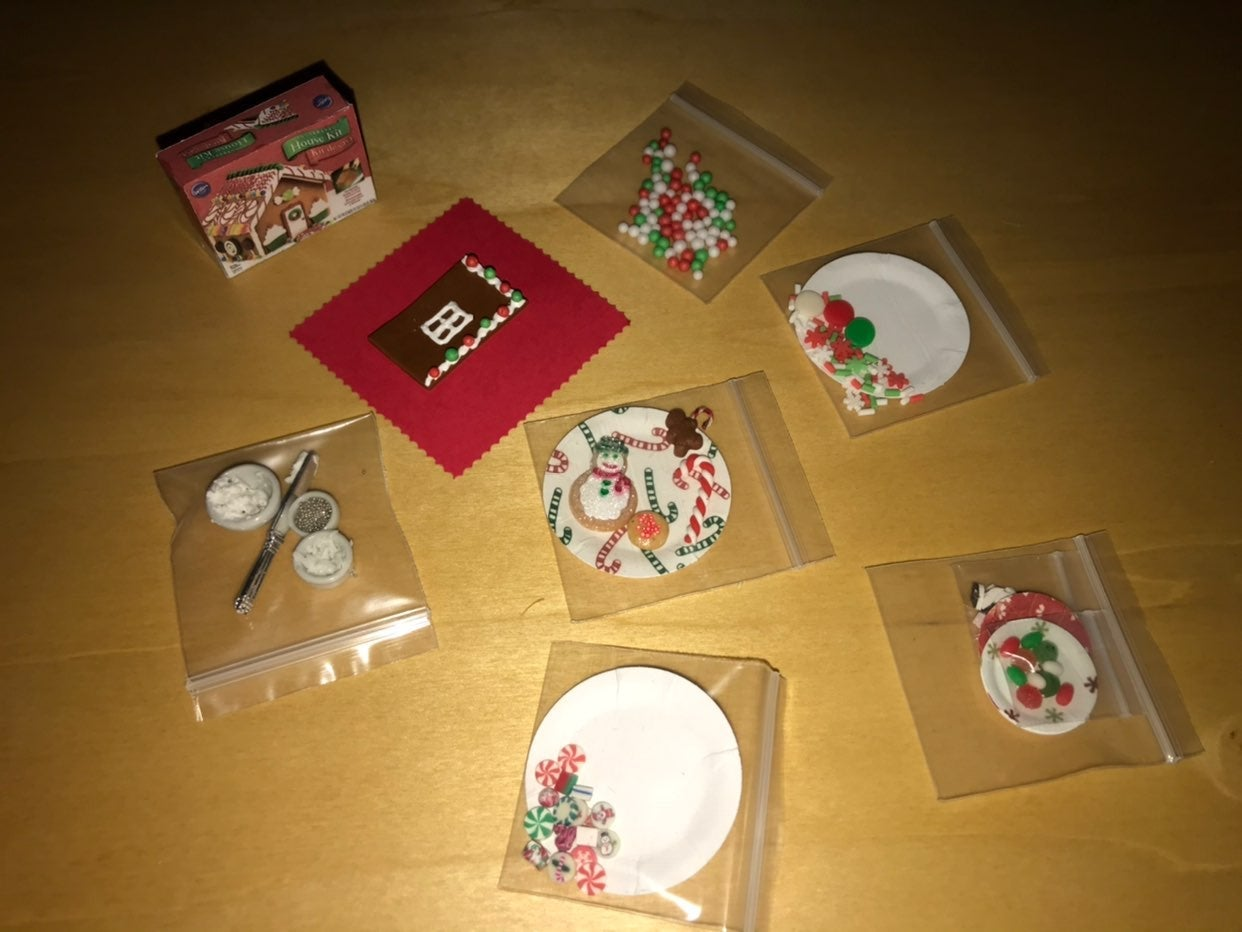 Miniature Gingerbread Making Kit