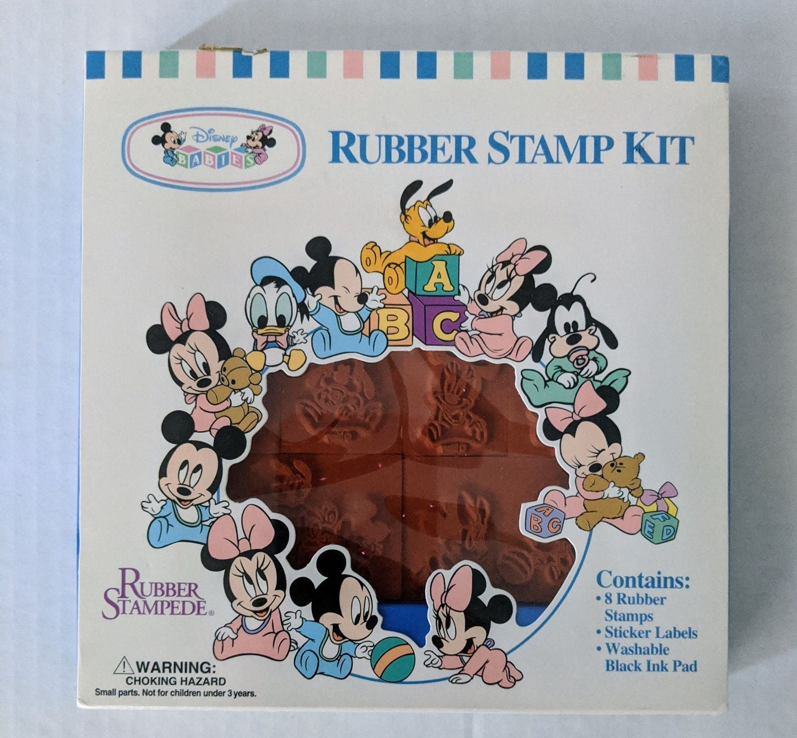 Vintage Disney Babies Rubber Stamp Set