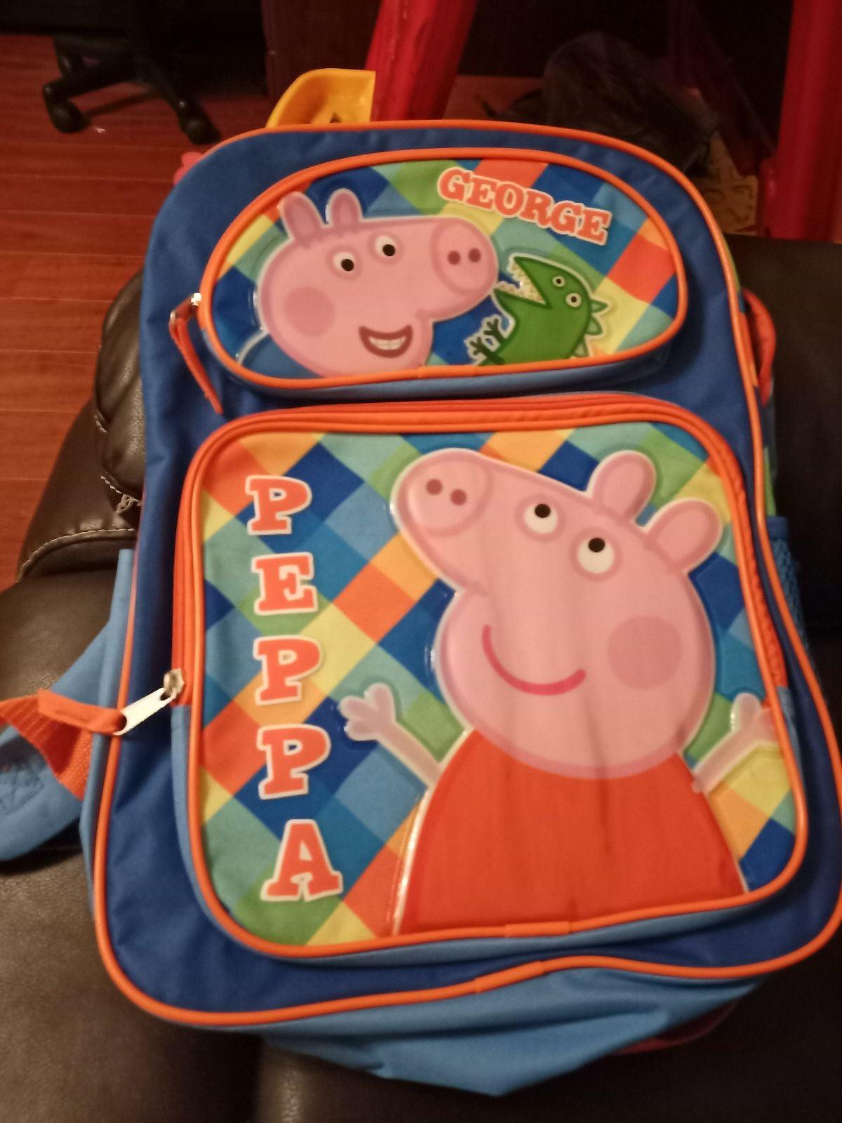 Peppa pig Backpack brand New