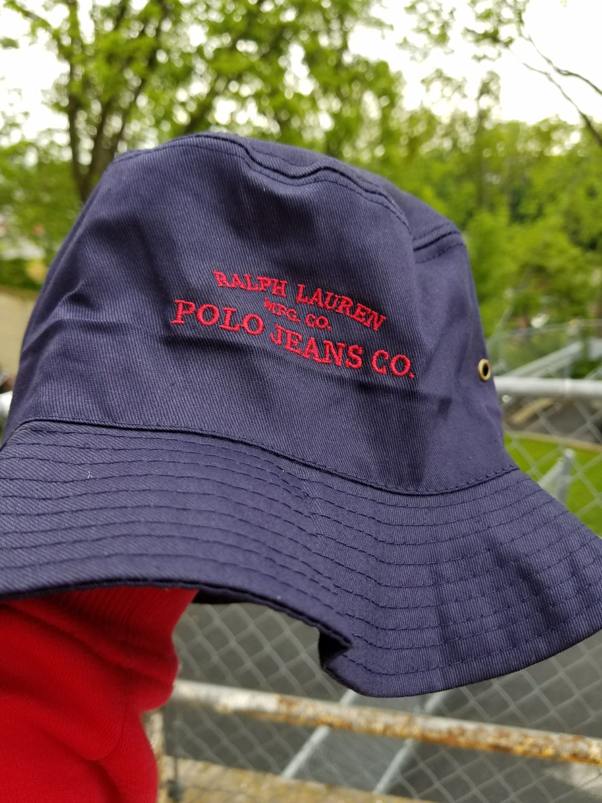 Vintage BOOTLEG RL polo jeans bucket hat