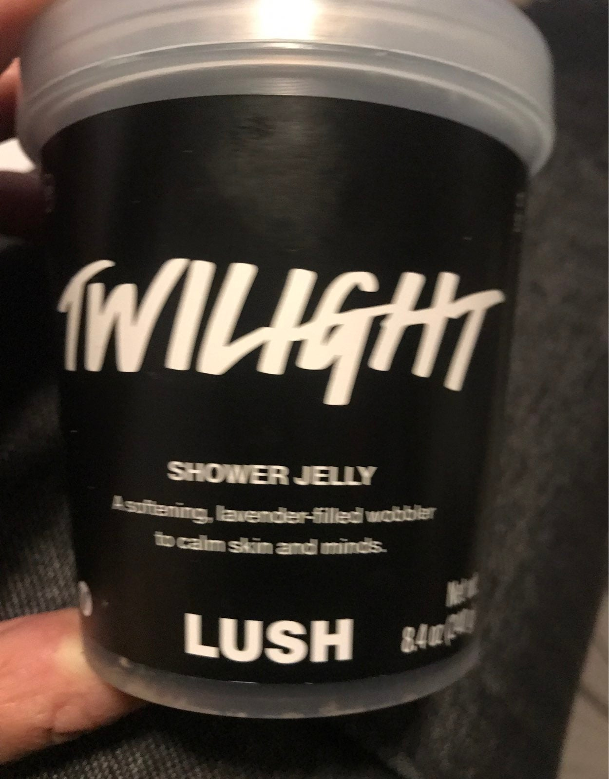 Lush rwilight shower jelly