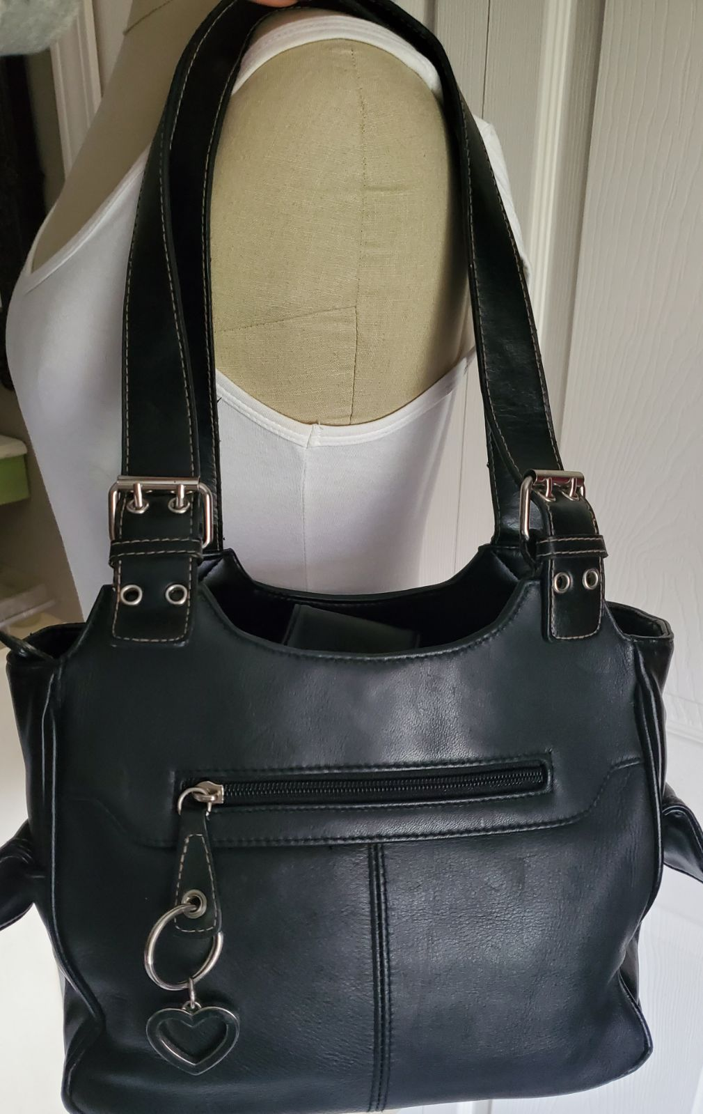 Handbag apostrophe‼️ black leatherette