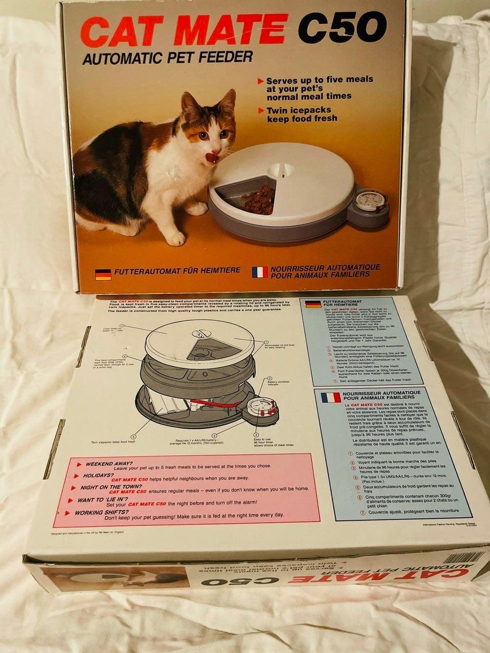 Cat Mate C50 Automatic Pet Feeder NEW