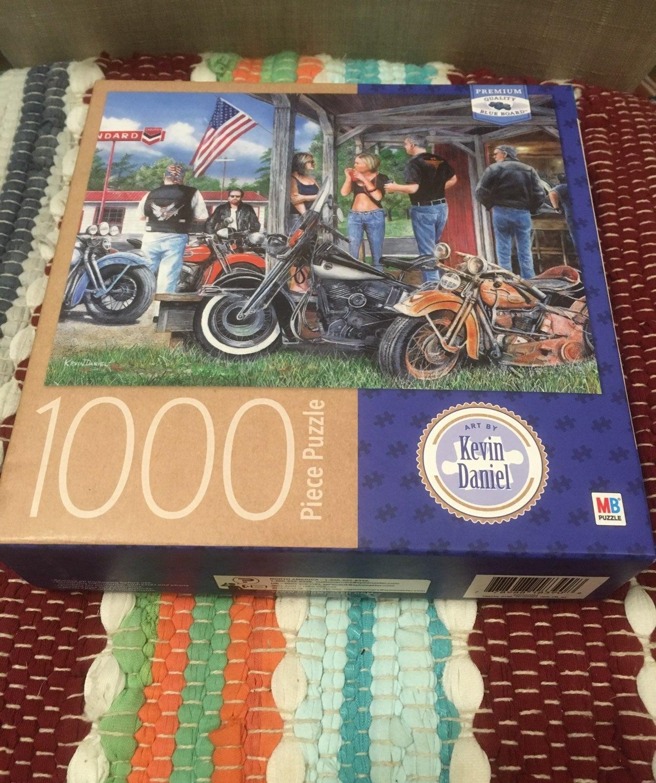 Milton Bradley Puzzle