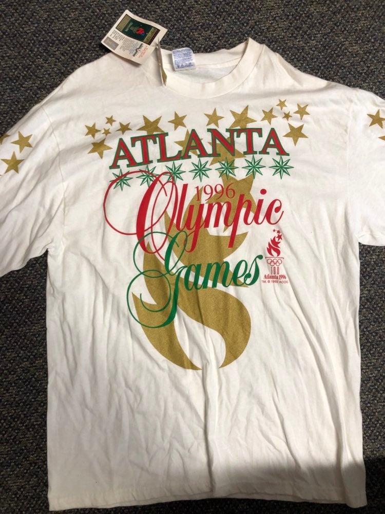 NWT Vintage 96 atlanta olympics Shirt XL