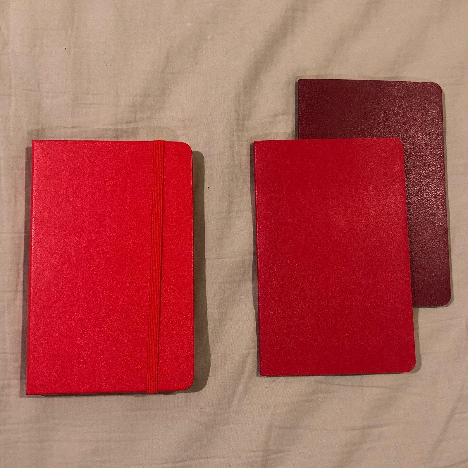 Pocket Moleskine Journals (3)