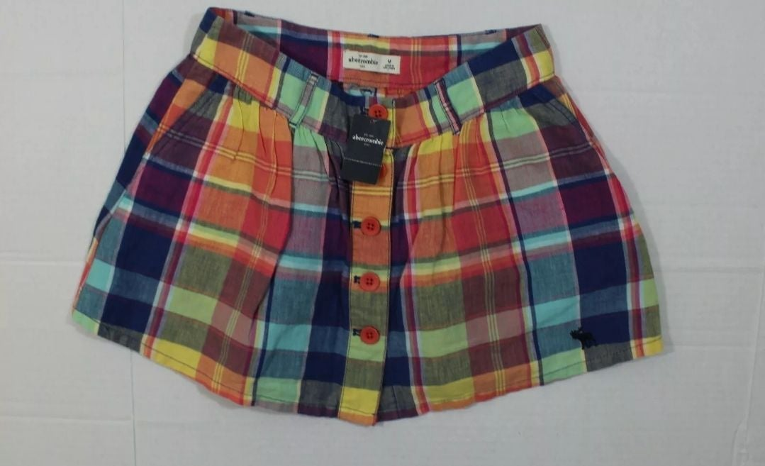 Plaid Abercrombie Skirt (medium)