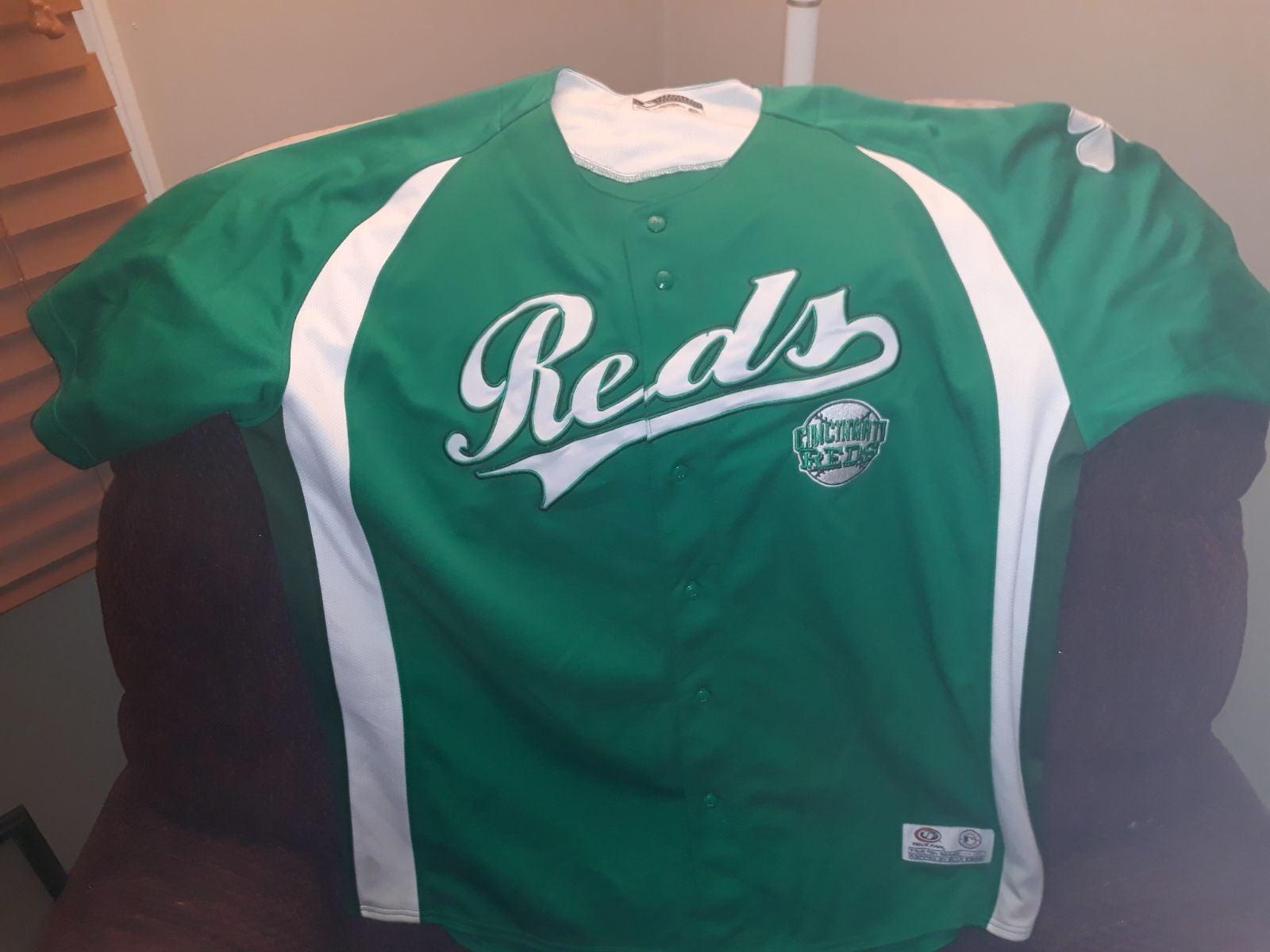 Cincinnati Reds (Green) shamrock Jersey