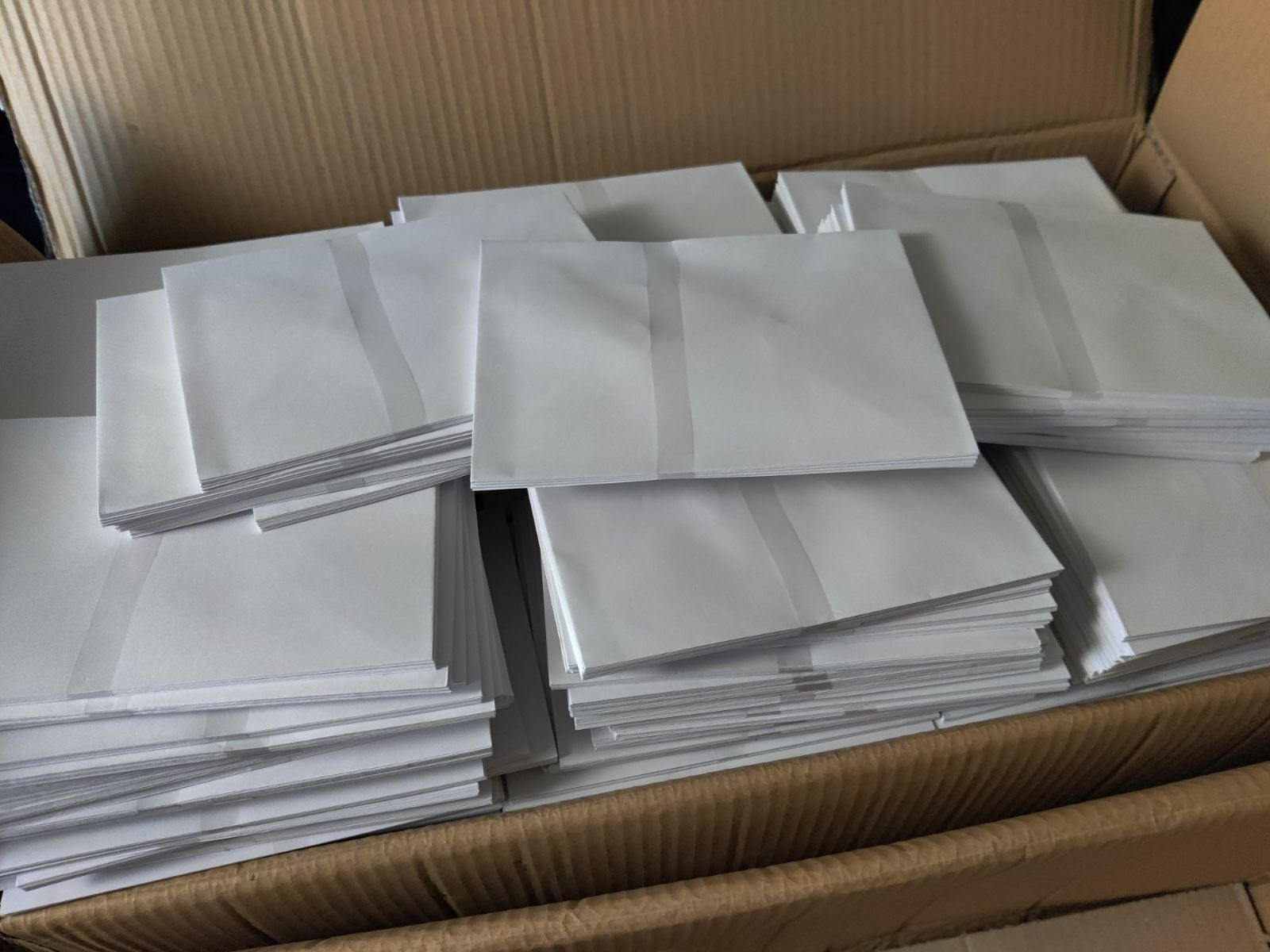 100 mailing envolopes