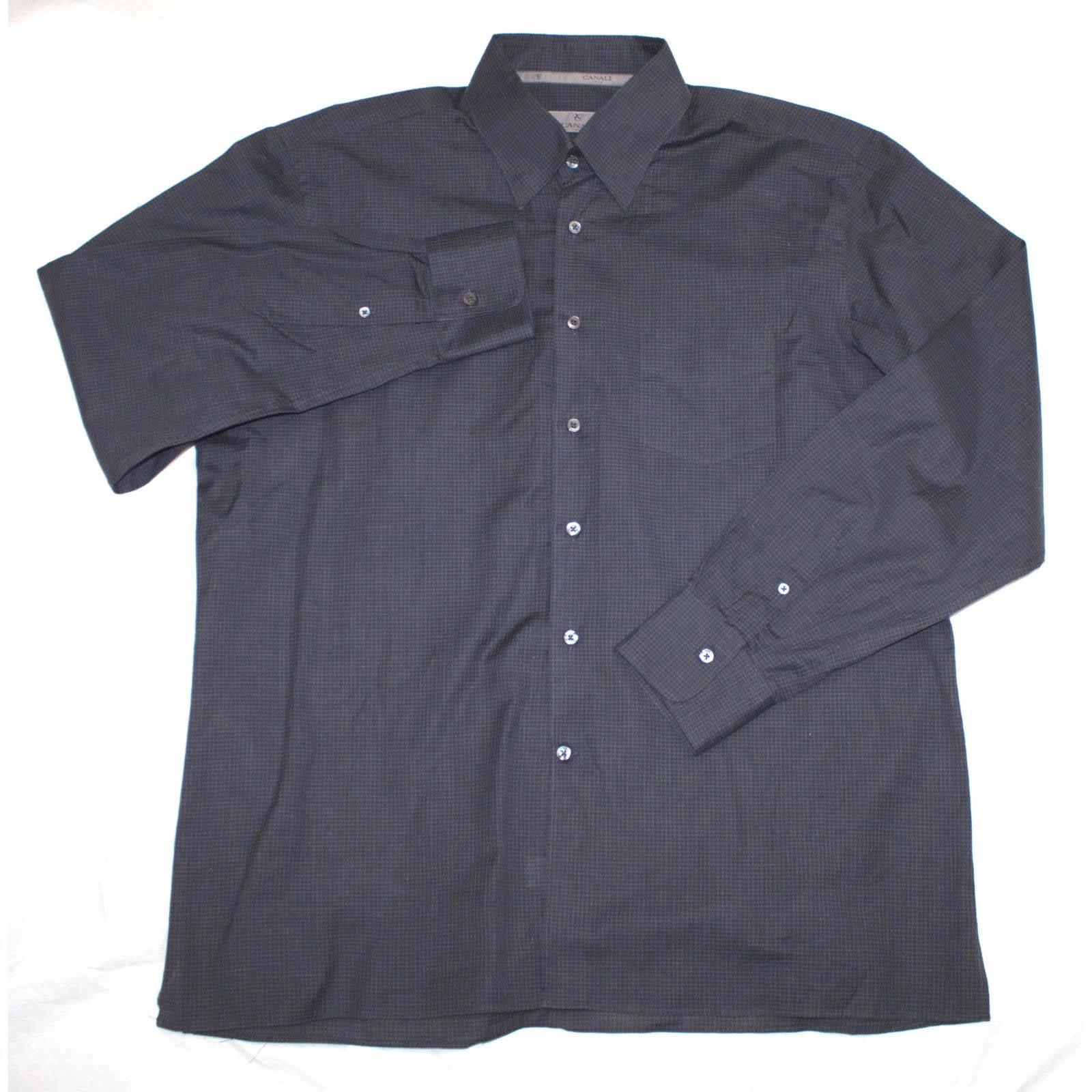 Canali Long Sleeve Button Down Shirt