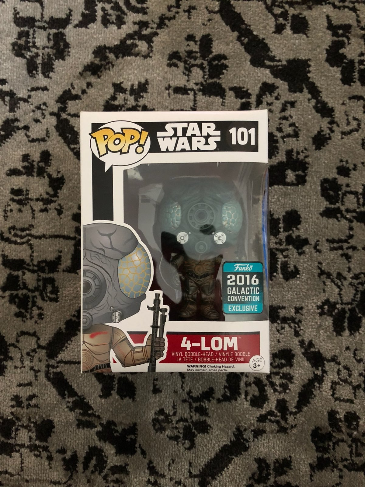 4-LOM 2016 Galactic Convention Pop