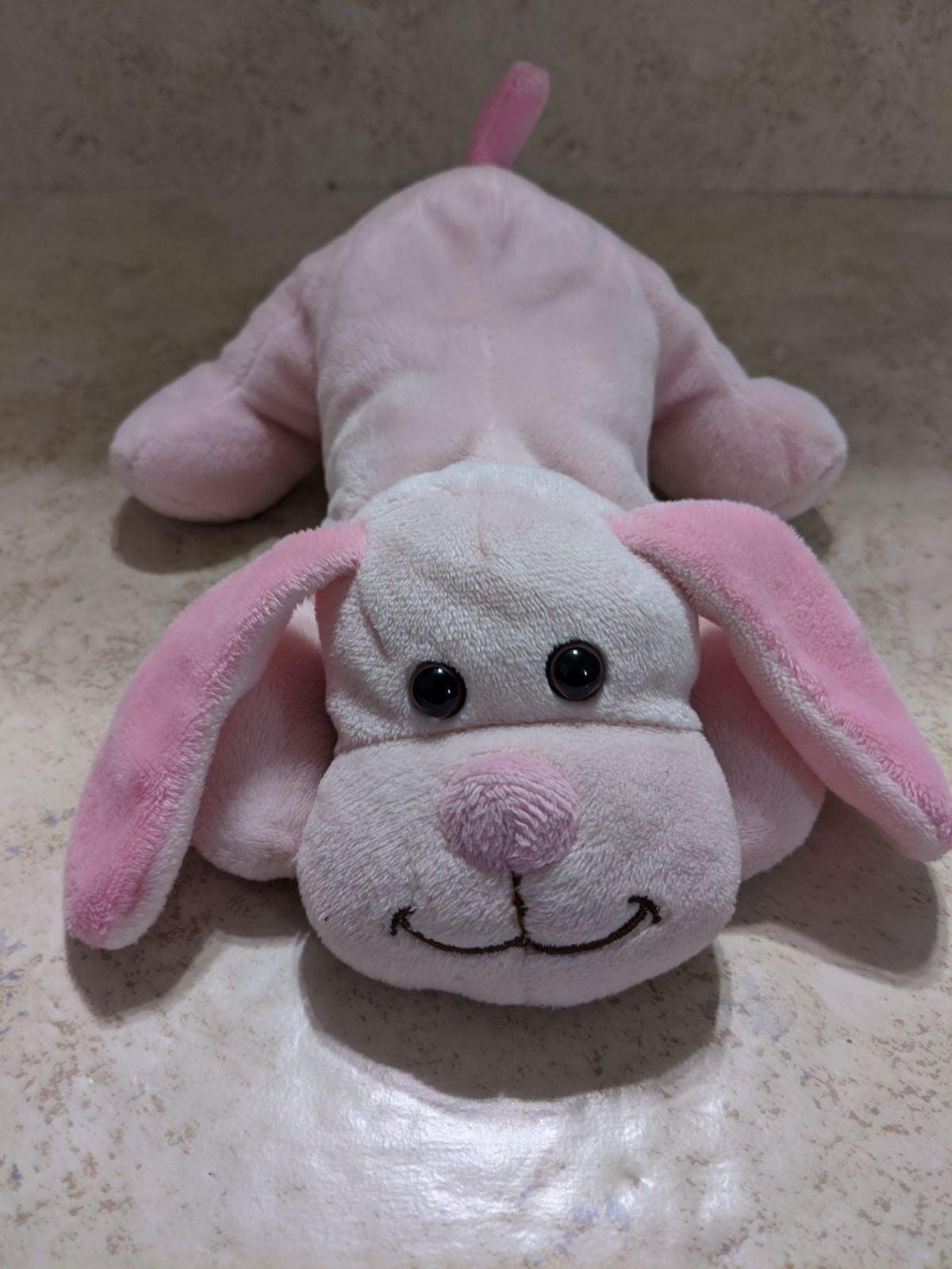 2015 Toys r Us pink dog plush pink dog