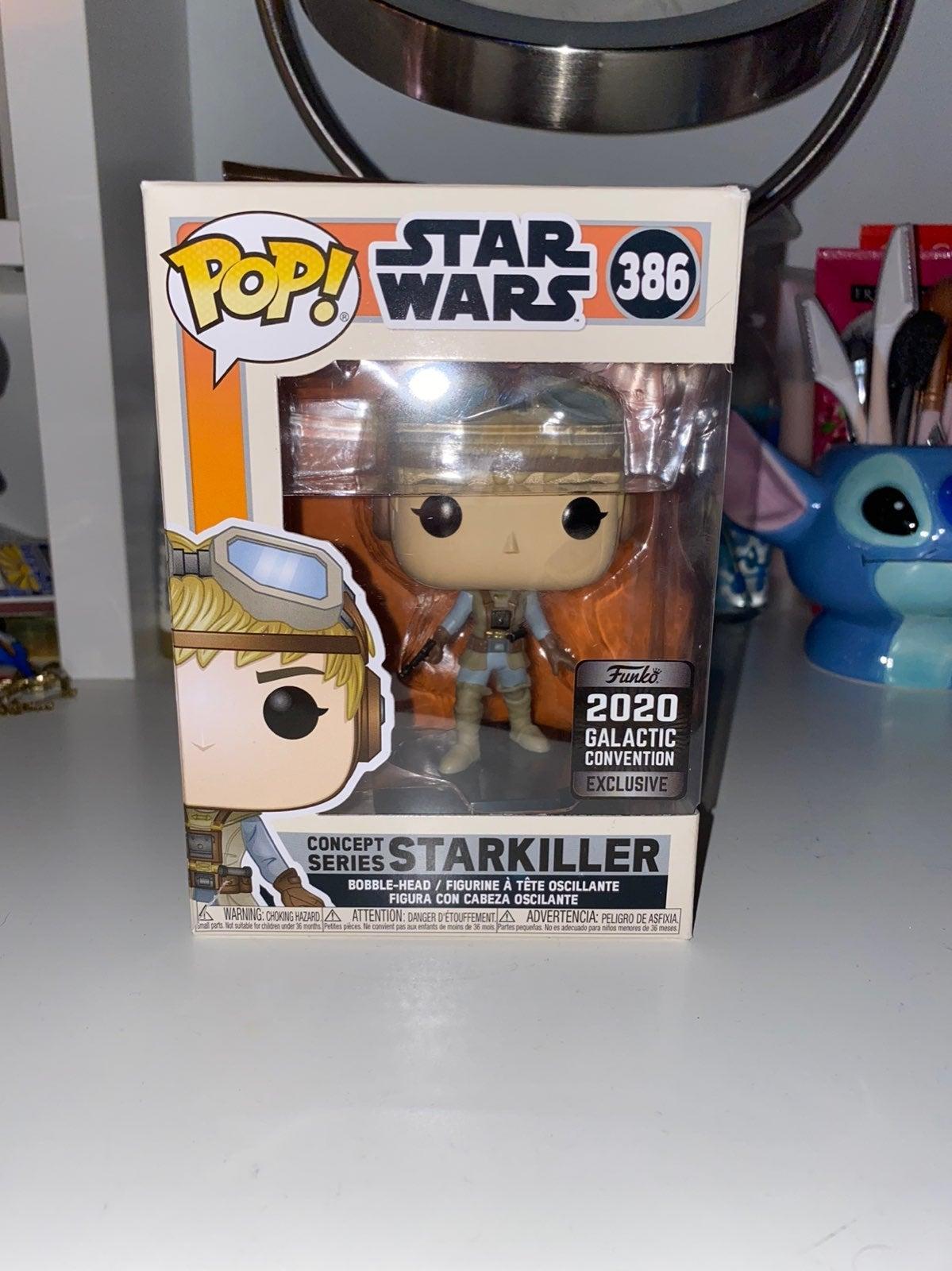 Star Wars Starkiller Funko Pop
